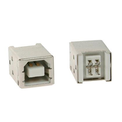 Conector USB 2.0 hembra tipo B