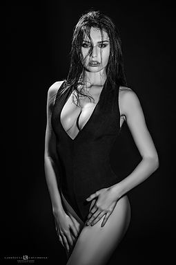 Black and Edgy FHM India Fashion Editorial