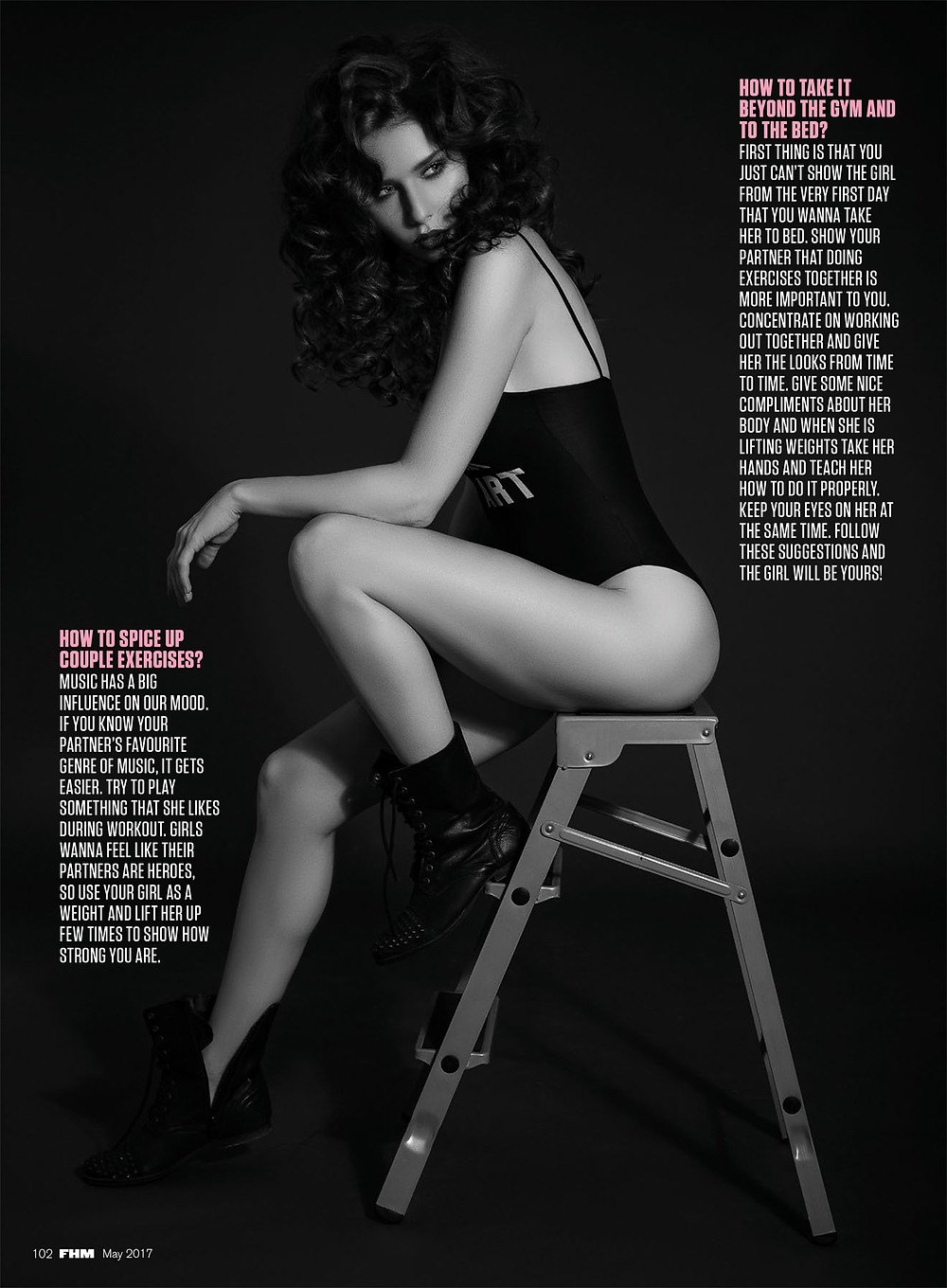 FHM India by Alex F Buchholz Photography