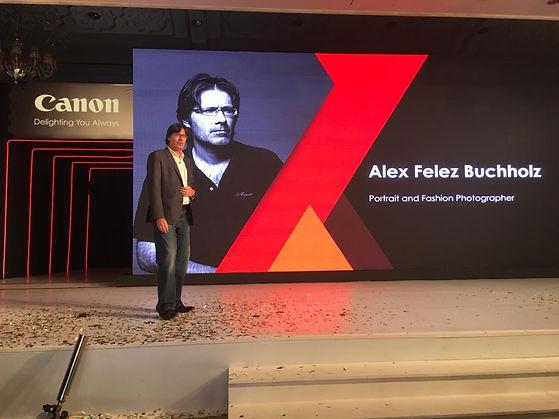 Alex F Buchholz launch Canon EOS R