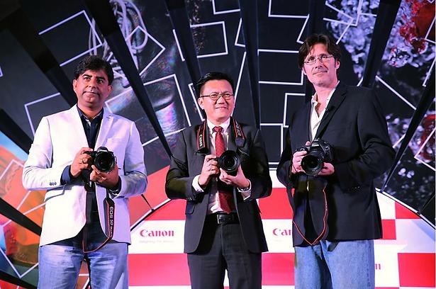 Alex F Buchholz launch Canon EOS 5D Mark IV