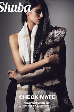 Shuba Magazine Fashion Editorial Check Mate