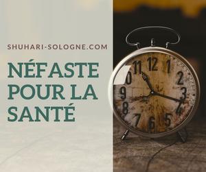 Article Blog Shuhari-Sologne L'heure d'été néfaste pour la santé