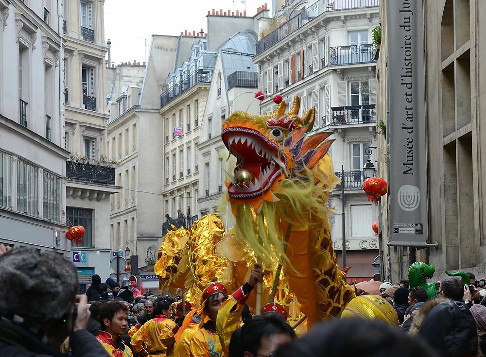 Nouvel an chinois à paris et en ile de France
