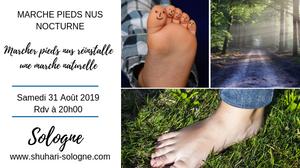 Blog Shuahari-Sologne marcher pieds nus réinstalle une marche naturelle