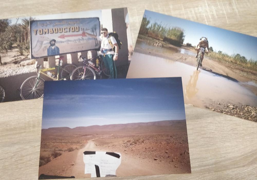 Hugues Beauvois - Voyage au Maroc en VTT - Qualification FFC grand voyageur