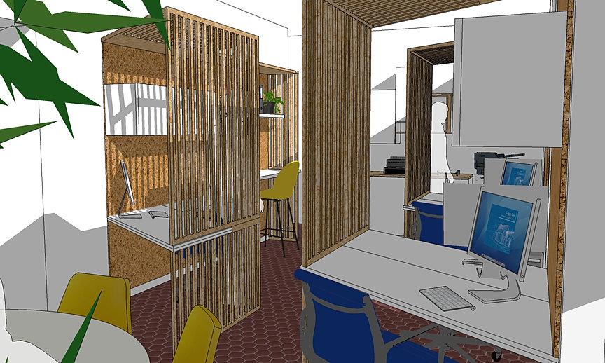 claustra bureau top bureaux claustra with claustra bureau trendy agrable claustra interieur. Black Bedroom Furniture Sets. Home Design Ideas