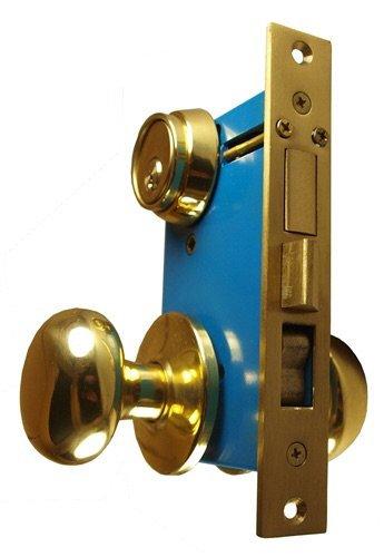 Mul-T-Lock Junior Iron Gate Double Cylinder Mortise Lockset