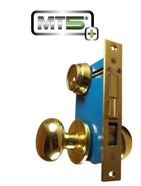 Mul-T-Lock MT5+ Iron Gate Double Cylinder Mortise Lockset