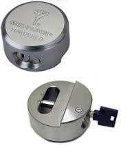 "Mul-t-lock Interactive+ TR100 ""Hockey Puck"" Padlock"