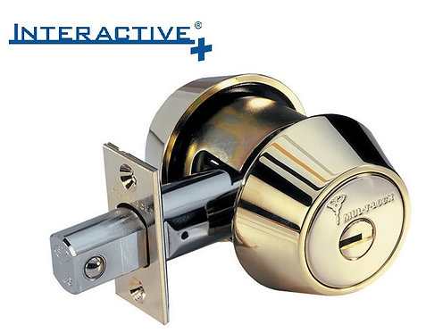 Mul-t-lock Interactive+ Hercular Single Cylinder Grade 1 Deadbolt