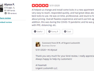 What Our Clients Say - Yelp Review