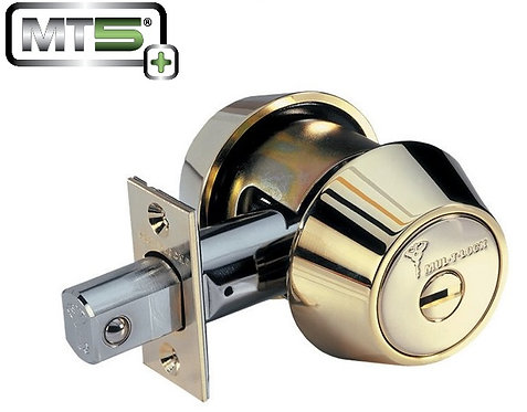 Mul-t-lock MT5+ Hercular Single Cylinder Grade 1 Deadbolt