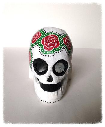 Italian Rose Sugar Skull