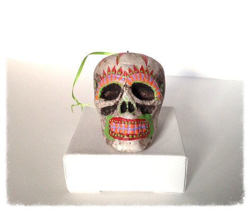 Hanging Tribal Skull