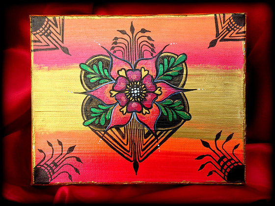 """Henna Floral"""