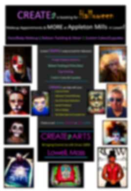 CREATEa October Happenings