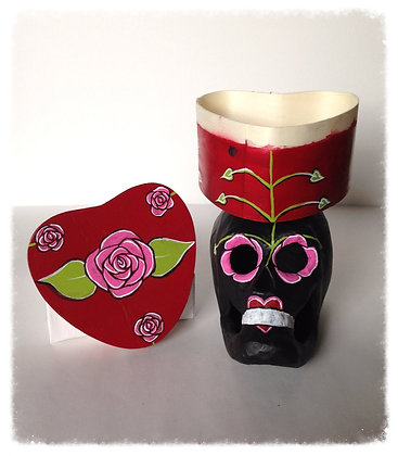 Sugar Skull SweetHeart Box