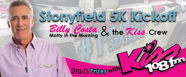 Billy Costa at Stonyfield 5K