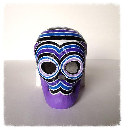Purple People Eater Skull
