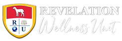 REVELATION UNIVERSITY LOGO White Wellnes