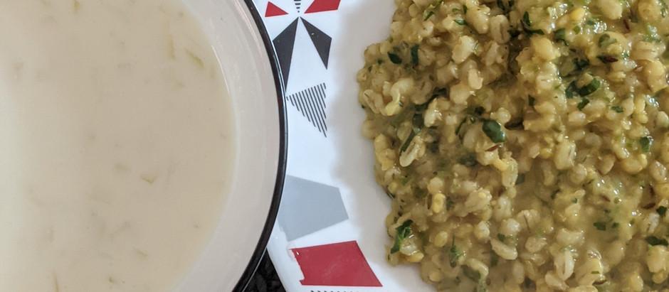 Barley Khichdi/Kitchari
