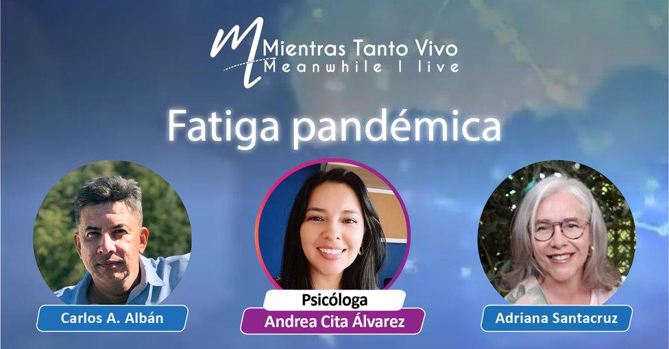 Programa Virtual #36 TEMA: Fatiga Pandémica