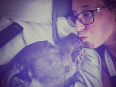 Témoignage: une femme enceinte sauvée par son ''Pit Bull''