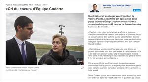 La Presse - 03 novembre