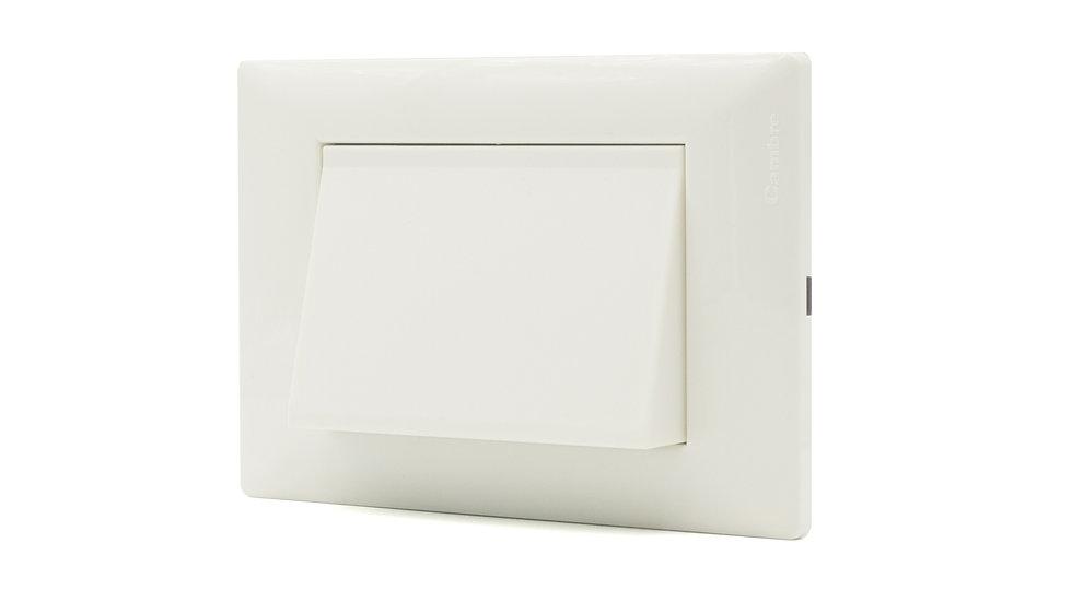 Orientador Acc/Led Cortesía Placa SXXII Blanco/Gris
