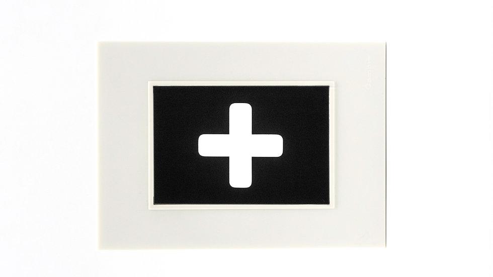 Placa Cambre Con Icono Señaletica Rgb Emergencia