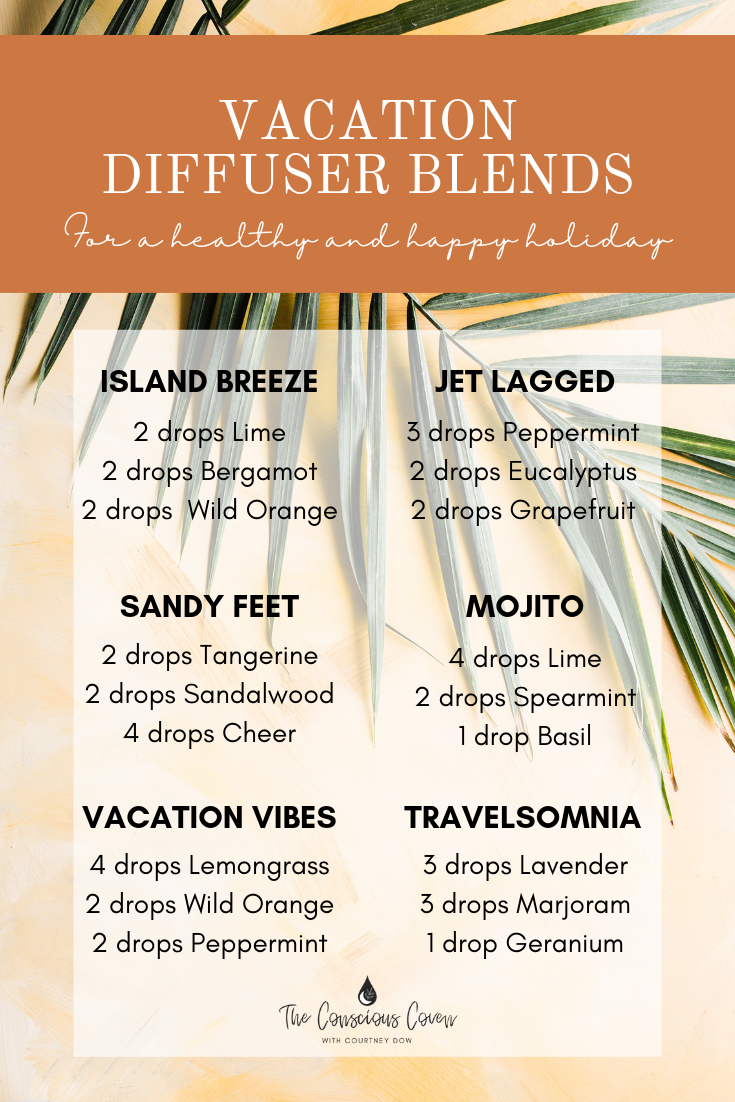 Vacation Diffuser Blends