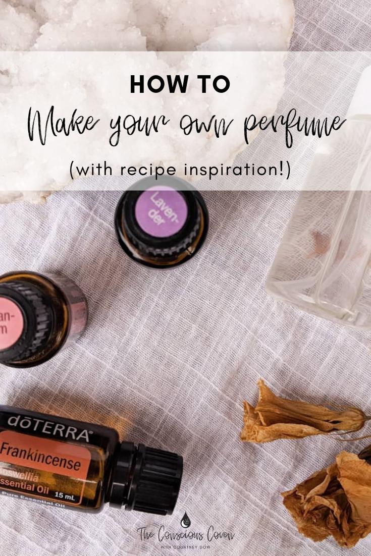 DIY perfume recipes