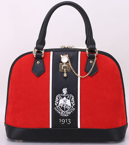 theCRIMSON_DST 1913 Handbag & Matching Wallet
