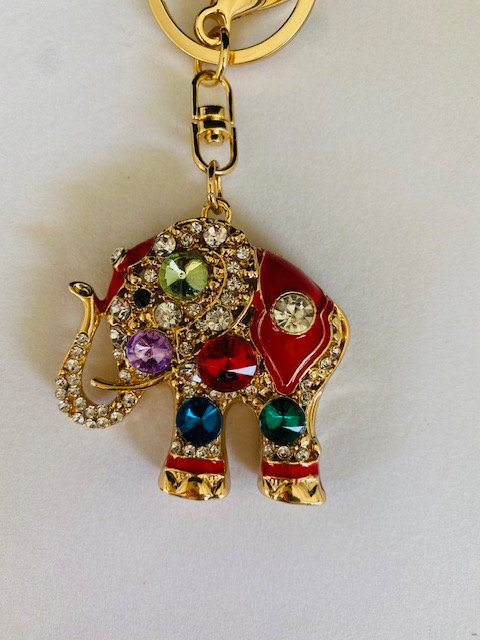 Trunk-up Jewels Keychain