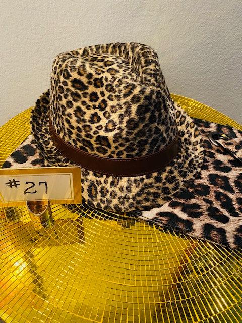 REVEALED - MYSTERY BOX #27: Cheetah Fedora & Clutch