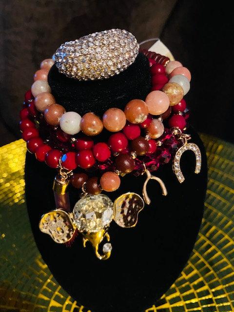 REVEALED - MYSTERY BAG #11 Trunks up Charm Bracelet/Ring