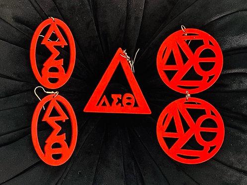DST Wood Earrings