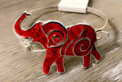 Trunks Up Bangle & Earrings