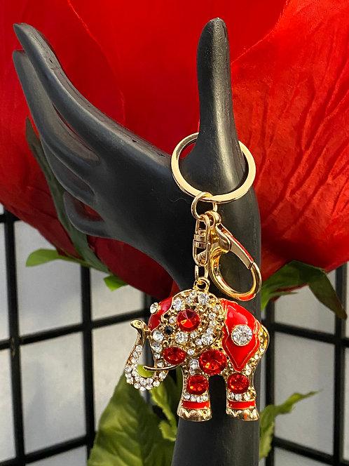 Bejeweled Purse Charm