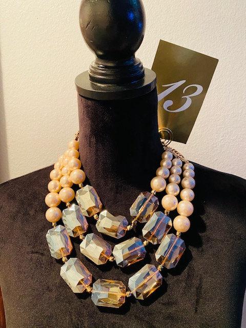 REVEALED - MYSTERY BAG #13 DIVA Jeweled Necklace