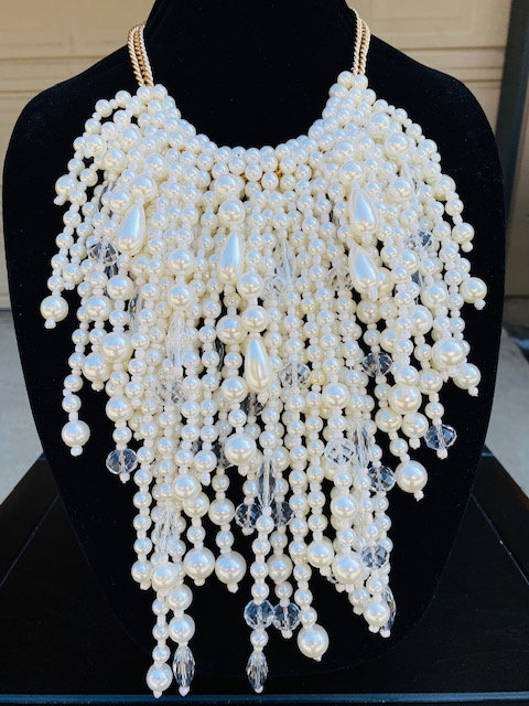 Waterfall Pearls, Bracelet & Earrings