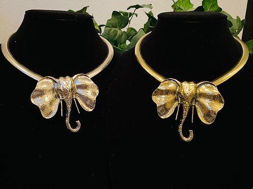 Trunk Up Necklace w/Earrings