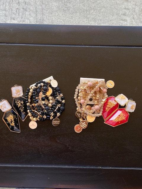 Brandi Elegant Earrings & Bracelet