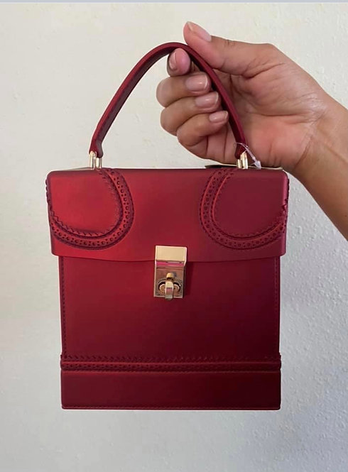 Precious Dream Red Box Handbag