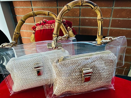 Bamboo Handle Day Out Purse