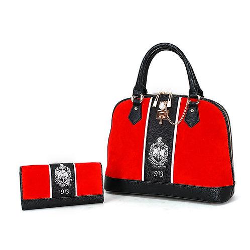 theCRIMSON_DST 1913 Handbag w/Matching Wallet
