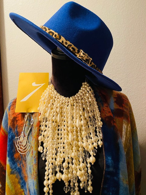 REVEALED - MYSTERY BOX #7 Fedora, Kimono Wrap, Pearl Necklace w/Earrings