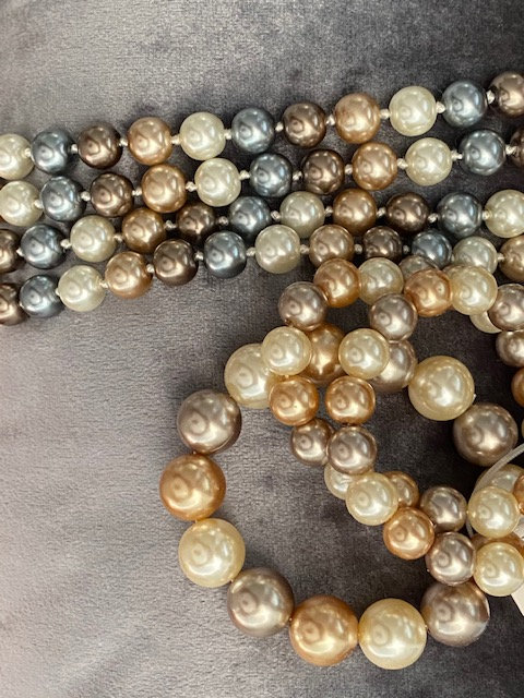 Ocean Breeze Pearls w/Bracelet
