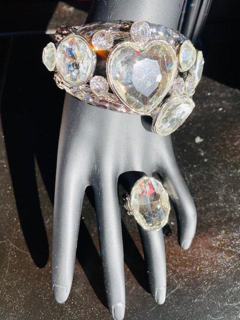 Glamorous Life Bangle & Ring